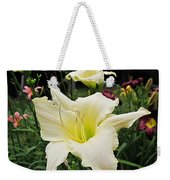 Guardian Angel Daylilies Weekender Tote Bag