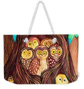 Guardians Of The Forest Weekender Tote Bag