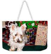 Guarding Christmas Weekender Tote Bag