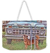 Guarding The Ford Weekender Tote Bag