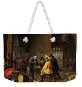 Guardroom With The Deliverance Of Saint Peter Weekender Tote Bag