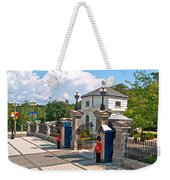 Guards At Queen's Gate In Ottawa-on Weekender Tote Bag