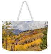 Guardsman Pass Aspen - Big Cottonwood Canyon - Utah Weekender Tote Bag