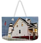 Guiding Light Weekender Tote Bag
