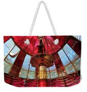 Guiding Red Light Weekender Tote Bag