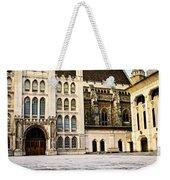 Guildhall Building And Art Gallery Weekender Tote Bag by Elena Elisseeva