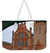 Guildhall In Londonderry Northern Ireland Weekender Tote Bag