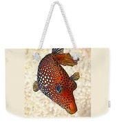 Guinea Fowl Puffer Fish Weekender Tote Bag