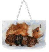 Guinea Pig Family Weekender Tote Bag