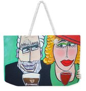 Guinness Man With The Woman Of His Dreams Weekender Tote Bag