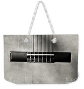 Guitar Abstract In Monochrome Weekender Tote Bag