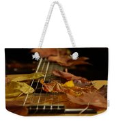Guitar Autumn 2 Weekender Tote Bag