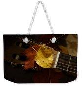 Guitar Autumn 4 Weekender Tote Bag