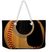 Guitar Baseball Square Weekender Tote Bag by Andee Design