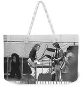 Guitar Interplay At The Day On The Green 6-6-76 Weekender Tote Bag