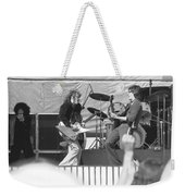 Guitar Jam At Day On The Green In Oakland 1976 Weekender Tote Bag