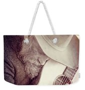 Guitar Man Weekender Tote Bag