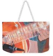 Guitar Music Weekender Tote Bag