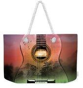 Guitar Nature  Weekender Tote Bag