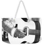 Guitar Player Weekender Tote Bag by Aidan Moran