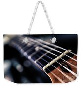 Guitar Strings Weekender Tote Bag