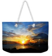 Guitar Sunset - Guitars By Sharon Cummings Weekender Tote Bag