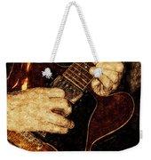 Guitar Tinted Copper Weekender Tote Bag