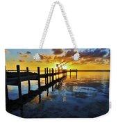 Gulf Coast Sunset Weekender Tote Bag