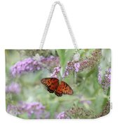 Gulf Fritillary Agraulis Vanillae-featured In Nature Photography-wildlife-newbies-comf Art Groups  Weekender Tote Bag