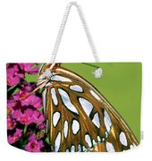 Gulf Fritillary Butterfly Agraulis Weekender Tote Bag