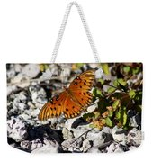 Gulf Fritillary Butterfly - Agraulis Vanillae Weekender Tote Bag