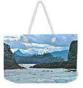 Gull Island Rookeries In Kachemak Bay-alaska Weekender Tote Bag
