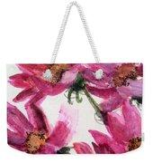Gull Lake's Flowers Weekender Tote Bag