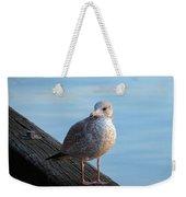 Gull On The Pier Weekender Tote Bag