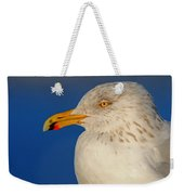 Gull Portrait Weekender Tote Bag