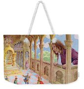 Gulliver At Lilliput Weekender Tote Bag