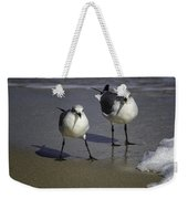 Gulls On The Beach Weekender Tote Bag