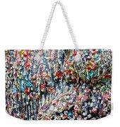 Gum Face  Weekender Tote Bag