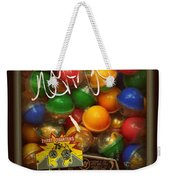 Series - Gumball Silver Bars With Graffiti - Iconic New York City Weekender Tote Bag