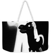 Gumby And Pokey B F F Black White Weekender Tote Bag