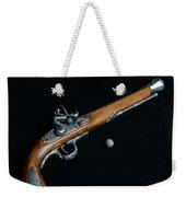 Gun - Musket With Musket Ball Weekender Tote Bag