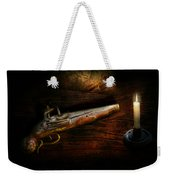 Gun - Pistol - Romance Of Pirateering Weekender Tote Bag