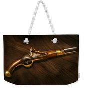 Gun - Pistols At Dawn Weekender Tote Bag