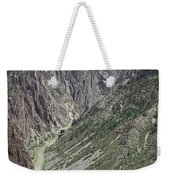 Gunnison River At The Base Of Black Canyon Of The Gunnison Weekender Tote Bag