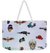 Guns And Roses  Weekender Tote Bag