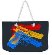 Guns Weekender Tote Bag