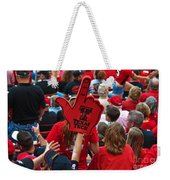 Guns-up Salute Weekender Tote Bag