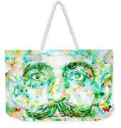 Gurdjieff- Watercolor Portrait Weekender Tote Bag