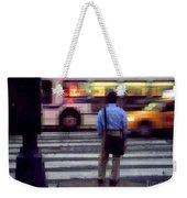 Crossing The Street - Traffic Weekender Tote Bag