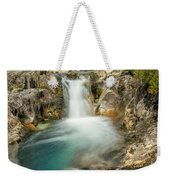 Gwynant Waterfall Weekender Tote Bag